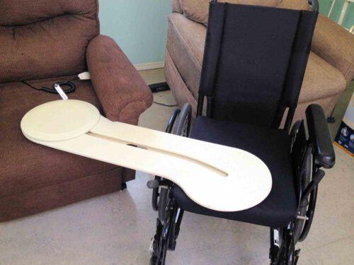 Alvast oefenen 'zonder benen' en leren van de VUMC fysio