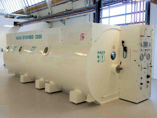 In de Hyperbare zuurstof tank gebeurt iets met dramatisch afloop