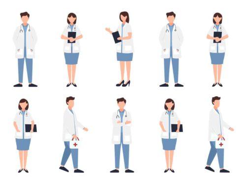 Overzicht van alle artsen die mijn voeten hebben bekeken